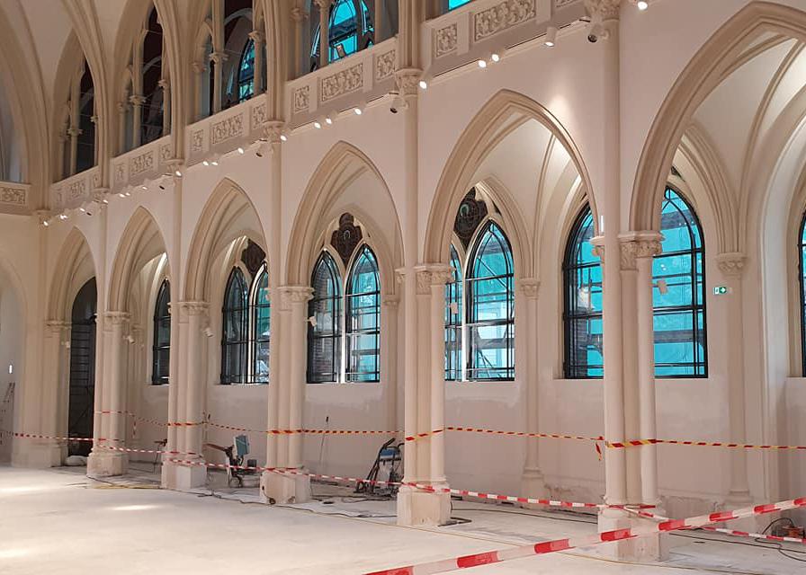 Rénovation d'une chapelle